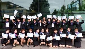 金城学院大学の第二期生24名がニュージーランド エアラインスクール(NZST)に短期留学しました!
